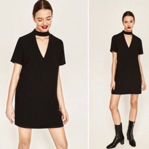 Zara chocker mini dress
